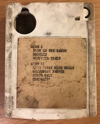 Creedence Clearwater Revival / Bayou Country Bootleg / 8 Track Cassette Tape