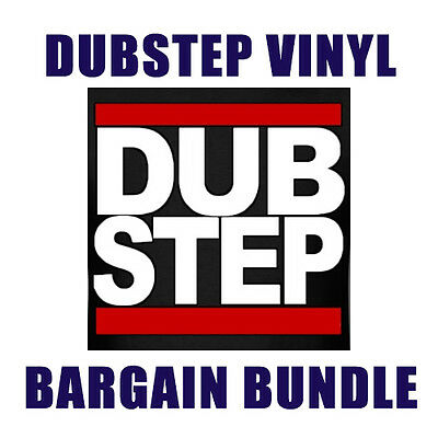 Dubstep Bargain Bundle 20 x Vinyl Records Circus, Silkie, & Many More - JOB LOT