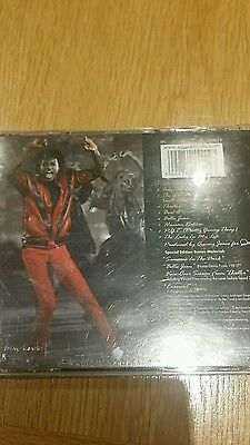 michael jackson gold cd thriller limited edition.