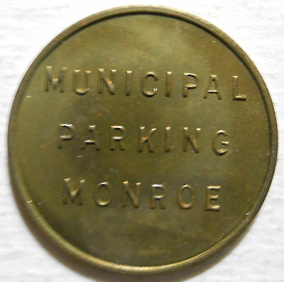 Monroe Municipal Parking (Michigan) parking token - MI3650A