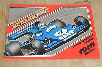 Scalextric Electric Model Racing Catalogue 19Th Edition -1978