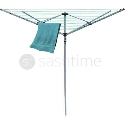5 Arm Wall Mounted Clothes Airer Dryer Washing Line Outdoor Protective Cover
