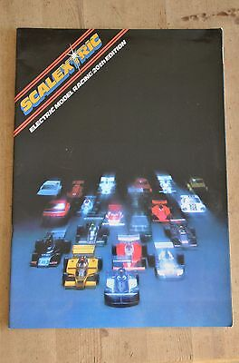 Scalextric Electric Model Racing Catalogue 20Th Edition -1979