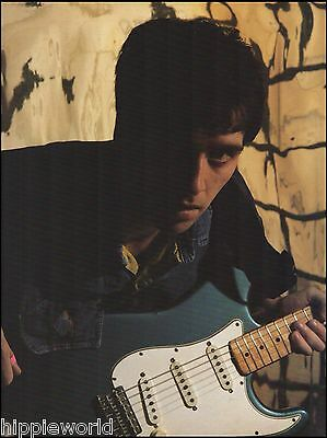The Smiths Johnny Marr 1990 Fender Stratocaster guitar 8 x 11 pinup photo