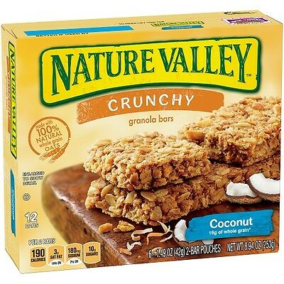 Nature Valley Crunchy Coconut Crunch Granola Bars