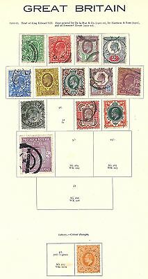 Lot:18457  GB EDVII  Jubilee Style Issue  1/2d to 2s6d