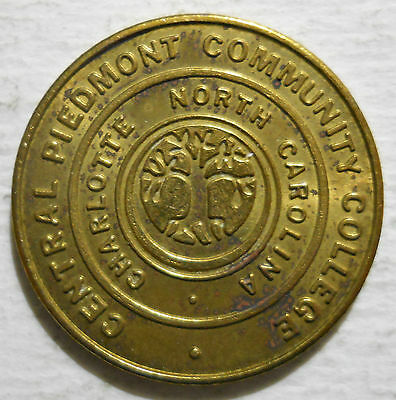 Central Piedmont Comm. Coll. (Charlotte, North Carolina) parking token - NC3160C