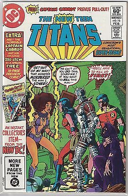 NEW TEEN TITANS #16 KEY 1st Appearance CAPTAIN CARROT George Perez NM- (9.2)
