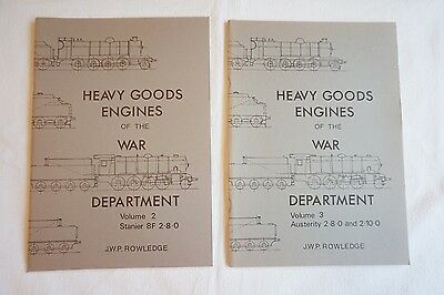 Heavy Goods Engines of the War Department Book Rowledge Volume 1 & 2