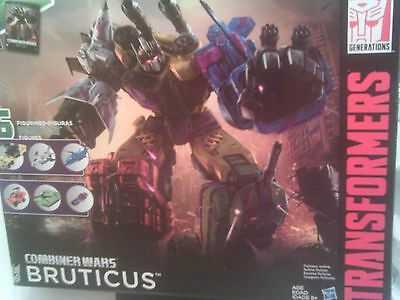 Transformers Combiner Wars Combaticons BRUTICUS Complete Set NEW