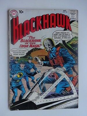 Blackhawk #153  War  Blackhawk in the Iron Mask  Boomerang  Master  Dick Dillin