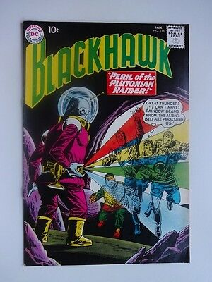 Blackhawk #156  War  Peril of the Plutonian Raider   Jixjika   Dick Dillin