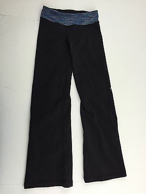 Ivivva by Lululemon Girls Black Reversible Pants - Size 4 - GUC