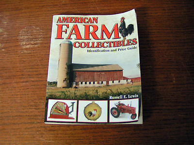 American Farm Collectibles Identification And Price Guide Book - Used