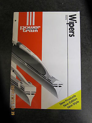 Power Train Wipers Catalogue Brochire Parts Book Cross Reference