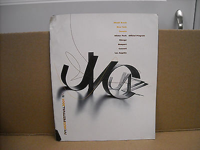 2001 Newport Jvc Jazz Festival Official Program