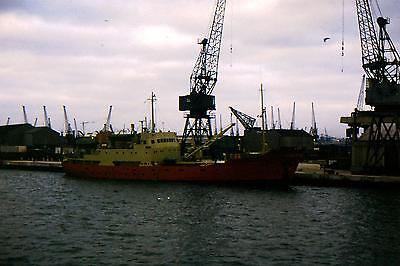 Vintage 35Mm Colour Shipping/ Slides From 1960/69  Shackelton Southampton