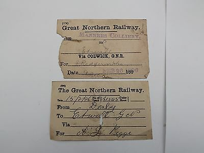 GNR Wagon Labels