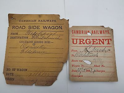 CR Wagon labels