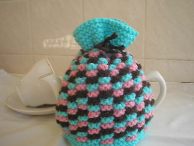 JOY'S Hand Knitted 2 CUP Tea Cosy