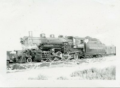 6E329 Rp 1936 Northern Pacific Railroad Engine #1908 Forsyth Mt