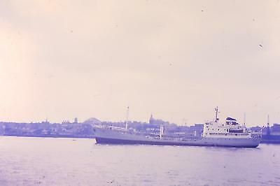 Vintage 35Mm Colour Shipping/ Slides From 1960/69  ,, French Tanker ,petro Ames