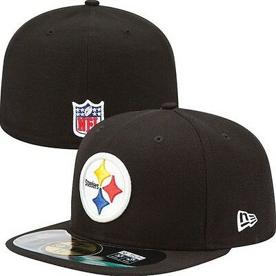 145e71e91f2 Pittsburgh Steelers Kid s NFL New Era On Field Hat Cap Flat Bill Fitted  Youth