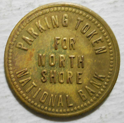 North Shore National Bank (Chicago, Illinois) parking token - IL3150BJ