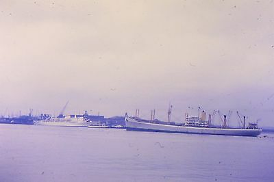 Vintage 35Mm Colour Shipping/ Slides From 1960/69  ,, Gravesend Dock  1967