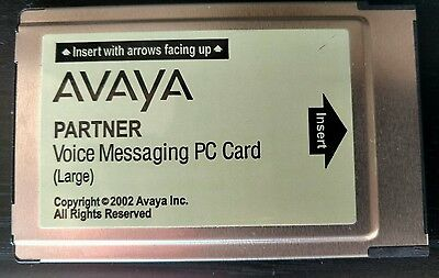 AVAYA Partner Voice Messaging PC Card (Large)