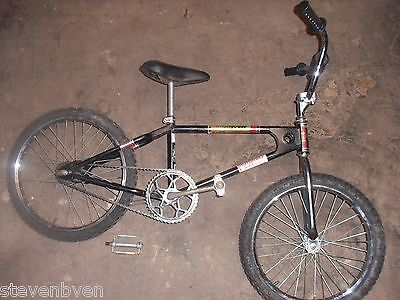 old school Mongoose Motomag bmx bike 1980