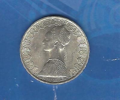 Italy 1958 Silver 500 Lire Uncirculated
