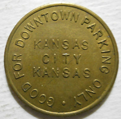 Minnesota Area Merchants Association (Kansas City, KS) parking token - KS3490D