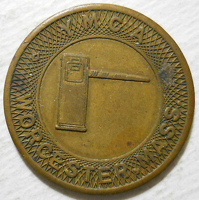 Worcester Y.M.C.A. (Massachusetts) parking token - MA3970A