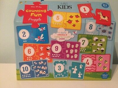 NEW - Marks & Spencer M&S - Childrens - Counting Is Fun - Puzzle