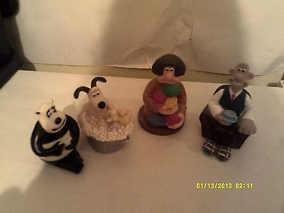 Wallace and Gromit Figures