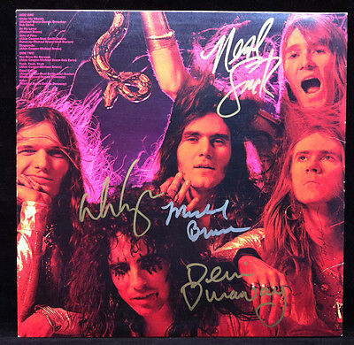 """ALICE COOPER AUTOGRAPHED Killer LP Vinyl Cover Signed By Band Members 12"""""""
