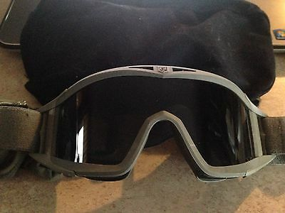 Us Military Goggles Follage Green With Cover Nip