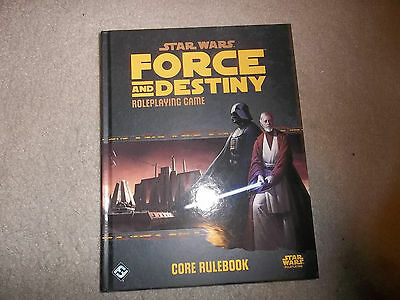 Star Wars RPG Force and Destiny Core Rulebook