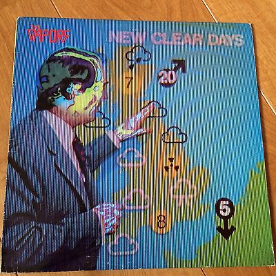 The Vapors New Clear Days + Inner Rare United Artists Stereo Lp A1/b1 Ex-