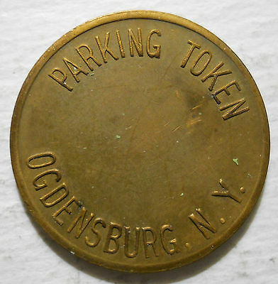 Ogdensburg, New York parking token - NY3670A
