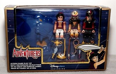 Disney Adventurers Action Figure Play Set - Aladdin  - New And Boxed - Rare