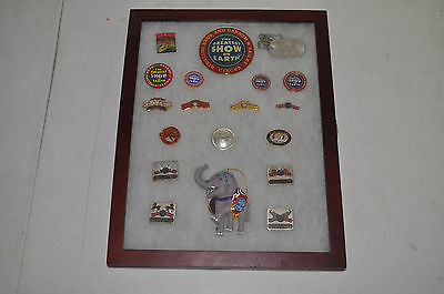 Lot of 16 Ringling Bros Barnum & Bailey Circus Employee only Staff Pin New Logo