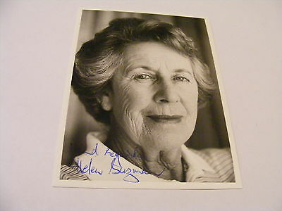 HELEN SUZMAN  Signed Photo Autograph South African Politician Anti-Apartheid