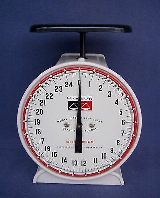 Vintage HANSON Model 2000 Utility Scale - 25 Pounds Capacity - Made in U.S.A.