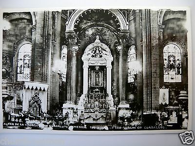 Catholic Photo Postcard Our Lady of Guadalupe Chapel Shrine Church Mexico Lot 14