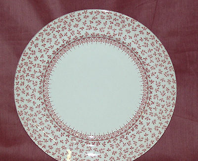 Wood & Sons~PROVENCE PINK Salad/Desert  Plate ~New~Made in England