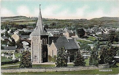 [0901] Radnorshire Colored Postcard Rhayader