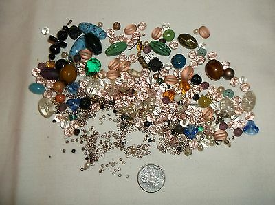 Assortment Of Vintage  Beads As Pictured