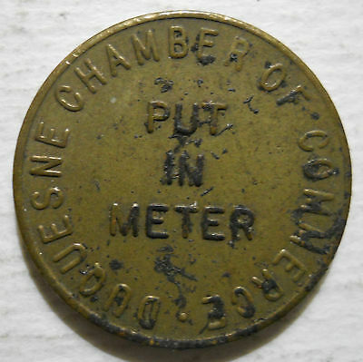 Duquesne Chamber of Commerce (Pennsylvania) parking token - PA3305A